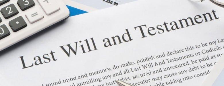 Extracto de testamento en inglés para abogados expertos en herencias